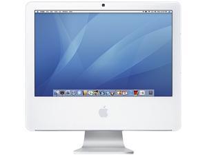 "Apple MA406LLA Intel Core Duo T2400 X2 1.83GHz 0.512GB 80GB 17"",White (Refurbished)"