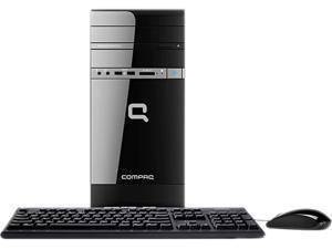 COMPAQ Desktop PC CQ2723W AMD Dual-Core Processor E1-1200 (1.40GHz) 4GB DDR3 500GB HDD Windows 7 Home Premium 64-Bit