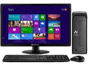 Gateway SX2110G-UW308 (DT.GDYAA.001) Desktop PC AMD Dual-Core Processor 4GB DDR3 500GB HDD Windows 8