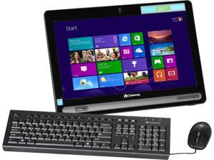 "Gateway All-in-One PC One ZX4665-UR11 Celeron 1017U (1.60 GHz) 4 GB DDR3 500 GB HDD 19.5"" Windows 8.1"