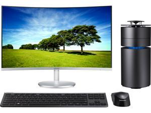 Samsung Desktop PC ArtPC Pulse DP700C6A-A01US Intel Core i7 6th Gen 6700 (3.4 GHz) 16 GB 1 TB HDD 256 GB SSD AMD Radeon RX 460 Windows 10 Home