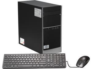 HP Pavilion 500-200 Mini Tower Desktop PC with Intel Core i3-4130 3.40Ghz, 4GB DDR3 RAM, 1TB HDD, DVDRW LightScribe, SD Card Reader, Windows 8 Professional 64 Bit