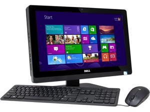 "DELL All-in-One PC Inspiron One 2020 (io2020-2503BK) Celeron G1620T (2.4GHz) 4GB DDR3 500GB HDD 20"" Windows 8"