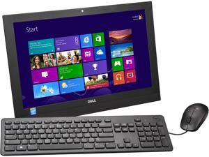 "DELL Desktop PC Inspiron i3043-1250BLK Celeron N2830 (2.16 GHz) 4 GB DDR3 500 GB HDD 19.5"" Windows 8.1 64-Bit"