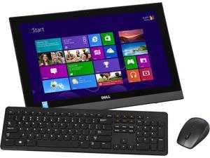 "DELL Desktop PC Inspiron i3043-5000BLK Pentium N3530 (2.16 GHz) 4 GB DDR3 500 GB HDD 19.5"" Touchscreen Windows 8.1 64-Bit"