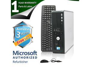 DELL Desktop Computer 780 Core 2 Duo E8400 (3.00 GHz) 8 GB DDR3 1 TB HDD Intel GMA 4500 Windows 7 Professional 64-Bit