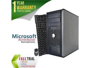 DELL Desktop Computer 780 Core 2 Duo E8400 (3.00 GHz) 4 GB DDR3 1 TB HDD Intel GMA 4500 Windows 7 Professional 64-Bit