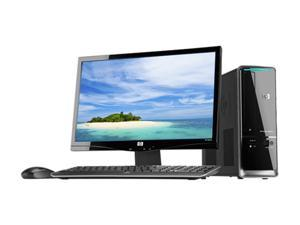 "HP Pavilion Slimline S5753W-B (QP723AAR#ABA) Desktop PC Bundle Athlon II X2 3GB DDR3 500GB HDD 20"" Windows 7 Home Premium ..."
