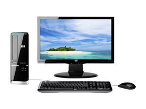 "HP Pavilion Slimline s5713w-b (BV614AAR#ABA) Desktop PC Bundle Athlon II X2 3GB DDR2 500GB HDD 18.5"" Windows 7 Home Premium ..."