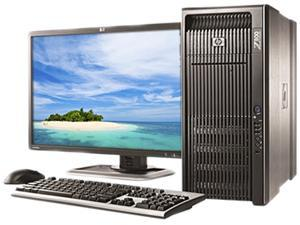HP Z800 (VA783UT#ABA) Workstation XEON 6GB DDR3 500GB HDD Windows 7 Professional 64-Bit