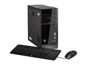 HP Desktop PC Pavilion h8-1214 (QW701AA) AMD FX-Series FX-6100 (3.3 GHz) 10 GB DDR3 1.5 TB HDD AMD Radeon HD 7450 1GB Windows 7 Home Premium 64-Bit