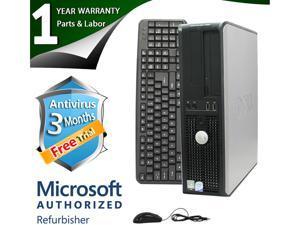 DELL Desktop Computer 755 Core 2 Quad Q6600 (2.40 GHz) 4 GB DDR2 250 GB HDD Windows 7 Professional 64-Bit