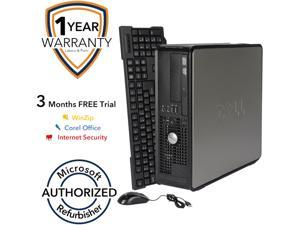 DELL Desktop Computer 755 Core 2 Duo E6550 (2.33 GHz) 4 GB DDR2 160 GB HDD Windows 7 Home Premium 64 Bit