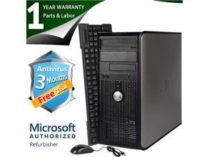 DELL Desktop Computer 745 Core 2 Duo E6300 (1.86 GHz) 4 GB DDR2 160 GB HDD Windows 7 Professional 64-Bit