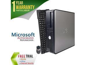 DELL Desktop Computer 320 Core 2 Duo E6550 (2.33 GHz) 2 GB DDR2 80 GB HDD Windows 7 Home Premium 64-Bit