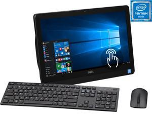 """DELL All-in-One Computer Inspiron i3052-3620BLK Pentium N3700 (1.60 GHz) 4 GB DDR3 1 TB HDD 19.5"""" Windows 10 Home 64-Bit"""