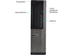 DELL Desktop Computer 790 Intel Core i5 2nd Gen 2400 (3.10 GHz) 4 GB 320 GB HDD Windows 7 Professional 64-Bit