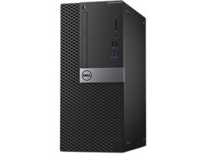 DELL Desktop Computer OptiPlex 5040 (W9DGR) Intel Core i7 6th Gen 6700 (3.4 GHz) 8 GB DDR3L 500 GB HDD Intel HD Graphics 530 Windows 7 Professional (Includes Windows 10 Pro License)