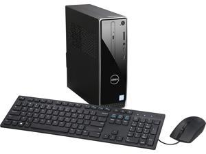DELL Desktop Computer Inspiron 3250 i3250-30BLK Intel Core i3 6th Gen 6100 (3.70 GHz) 4 GB DDR3L 1 TB HDD Intel HD Graphics 530 Windows 10 Home 64-Bit