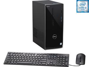 DELL Desktop Computer Inspiron 3650 i3650-3111SLV Intel Core i3 6th Gen 6100 (3.70 GHz) 6 GB DDR3L 1 TB HDD Intel HD Graphics 530 Windows 10 Home 64-Bit