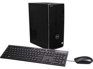 DELL Desktop Computer Inspiron 3650 i3650-3133SLV Intel Core i5 6th Gen 6400 (2.7 GHz) 8 GB DDR3L 1 TB HDD NVIDIA GeForce GT 730 2 GB GDDR3 Windows 10 Home 64-Bit English