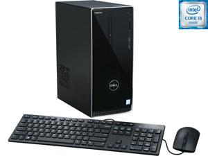 DELL Desktop Computer Inspiron 3650 i3650-3756SLV Intel Core i5 6th Gen 6400 (2.7 GHz) 12 GB DDR3L 1 TB HDD Intel HD Graphics 530 Windows 10 Home 64-Bit