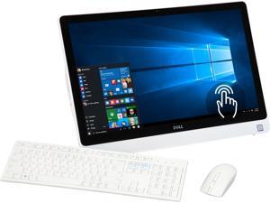 "DELL All-in-One Computer Inspiron 24 3000 (i3459-3276WHT) Intel Core i3 6th Gen 6100U (2.30 GHz) 8 GB DDR3L 1 TB HDD 23.8"" Touchscreen Windows 10 Home 64-Bit"