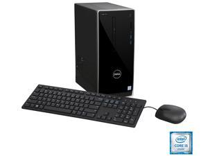 DELL Desktop Computer Inspiron 3650 Intel Core i5 6th Gen 6400 (2.7 GHz) 8 GB DDR3L 1 TB HDD Intel HD Graphics 530 Windows 7 Professional English 64-Bit with Windows 10 Pro License