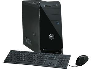 DELL Desktop Computer XPS 8900 X8900-1444BLK Intel Core i7 6700 (3.4 GHz) 8 GB DDR4 1 TB HDD NVIDIA GeForce GT 730 2 GB GDDR3 Windows 10 Home 64-Bit