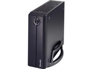 Shuttle XH61 Desktop Computer - Intel Celeron G1620 2.70GHz - 2GB DDR3 - 32GB SSD - Windows Embd Citrix - Slim PC
