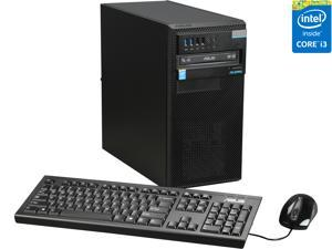 ASUS Desktop Computer D510MT-I34160081F Intel Core i3 4th Gen 4160 (3.60 GHz) 4 GB DDR3 500 GB HDD Intel HD Graphics 4400 Windows 7 Professional Pre-installed with Windows 8.1 Pro Key