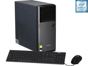 ASUS Desktop Computer M32CD-US013T Intel Core i7 6700 (3.4 GHz) 8 GB DDR3 2 TB HDD NVIDIA GeForce GT 730 2 GB Windows 10 Home 64-Bit
