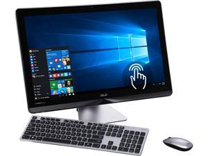 "ASUS All-in-One Computer Zen AiO Series ZN240ICUT-DB51T Intel Core i5 6th Gen 6200U (2.30 GHz) 8 GB DDR4 2 TB HDD 23.8"" Touchscreen Windows 10 Home 64-Bit"