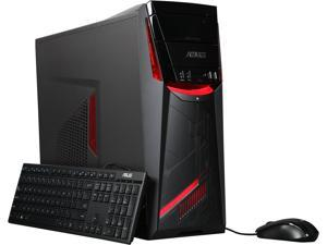 ASUS Desktop PC G11CD-EH51-GTX1060 Intel Core i5 6th Gen 6400 (2.7 GHz) 8 GB DDR4 1 TB HDD NVIDIA GeForce GTX 1060 Windows 10 Home 64-Bit