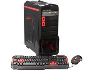iBUYPOWER Desktop PC ARC Series NE671FX AMD FX-Series FX-8320 (3.50GHz) 8GB DDR3 1TB HDD Windows 7 Home Premium 64-Bit