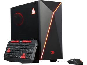 iBUYPOWER Desktop Computer NE500SL Intel Core i5 6th Gen 6400 (2.7 GHz) 8 GB DDR4 1 TB HDD AMD Radeon RX 480 Windows 10 Home 64-Bit