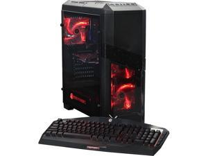CyberpowerPC Desktop Computer Gamer Ultra 2240 AMD FX-Series FX-8320 (3.50 GHz) 8 GB DDR3 1 TB HDD 120 GB SSD AMD Radeon RX 460 Windows 10 Home 64-Bit