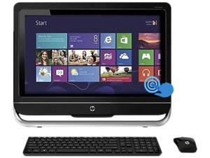 "HP TOUCHSMART 23-F251 A6-Series APU 4GB DDR3 1TB HDD 23"" Touchscreen Windows 8"