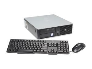 HP DC5800 Desktop PC Core 2 Duo 4GB 750GB HDD Windows 7 Home Premium