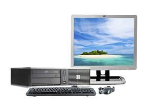 "HP DC7900 Desktop PC 3.0GHz 2GB 160GB HDD Capacity Windows 7 Professional with 17"" NEC LCD"