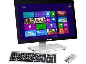 "Lenovo All-in-One PC A730 (57315409) Intel Core i7 4700MQ (2.40GHz) 8GB DDR3 1TB HDD 27"" Touchscreen Windows 8"