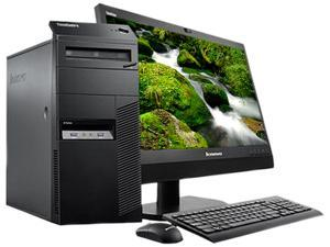 Lenovo ThinkCentre 10A7000QUS Desktop Computer - Intel Core i7 i7-4770 3.40 GHz - Mini-tower - Business Black