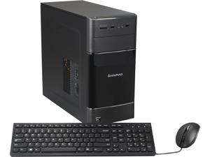 Lenovo Desktop PC H535 57324528 A10-Series APU A10-6700 (3.70 GHz) 8 GB DDR3 2 TB HDD AMD Radeon HD 8670D Windows 8.1