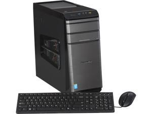 Lenovo Desktop PC K450E 57327389 Intel Core i7 4790 (3.6 GHz) 12 GB DDR3 1 TB HDD 8GB Cache SSD NVIDIA GeForce GTX 760 Windows 8.1 64-bit