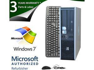 HP Desktop PC DC5800 Core 2 Duo E8400 (3.00GHz) 4GB 1TB HDD Windows 7 Professional 64-bit