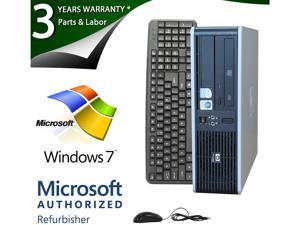 HP Compaq Desktop PC DC7800 Core 2 Duo E6550 (2.33GHz) 2GB 80GB HDD Windows 7 Home Premium 64-Bit