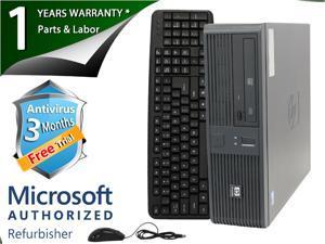 HP Desktop Computer RP5700 Core 2 Duo E6300 (1.86 GHz) 2 GB DDR2 80 GB HDD Intel GMA 3000 Windows 7 Home Premium 32-Bit
