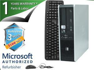 HP Desktop Computer DC5850 Athlon 64 X2 4450B (2.3 GHz) 4 GB DDR2 250 GB HDD ATI Radeon 3100 IGP Windows 7 Professional 64-Bit
