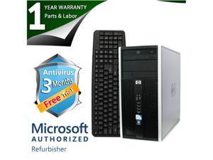 HP Desktop Computer 6000 Pro Core 2 Duo E8400 (3.00 GHz) 4 GB DDR3 250 GB HDD Intel GMA 4500 Windows 7 Professional 64-Bit