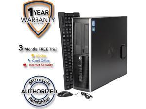 HP Desktop Computer 6200 Pro Intel Core i5 2nd Gen 2400 (3.10 GHz) 8 GB DDR3 1 TB HDD Intel HD Graphics 2000 Windows 7 Professional 64-Bit